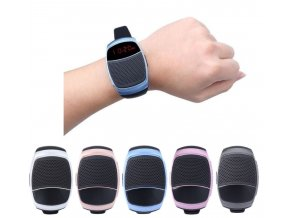 Sportovní, inteligentní bluetooth hodinky s reproduktorem