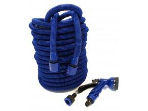 Smršťovací zahradní hadice s profi pláštěm 7,5 m - modrá