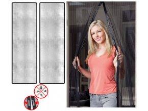 Samozavírací magnetická síťka 210 x 100 cm