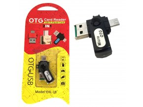 Přechodka 2 v 1, Type C - USB