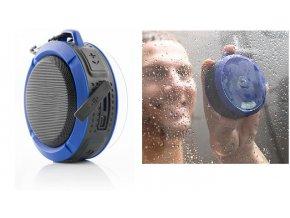 Bezdrátový voděodolný bluetooth reproduktor do sprchy