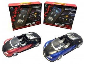 Sportovní auto na dálkové ovládání RC Cabriolet 1:18