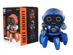 Multifunkční, tančící a svítící robot Bot Pio