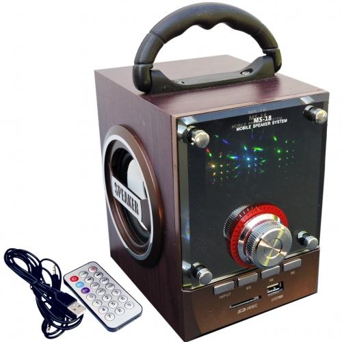 Balentes Nabíjecí a přenosný reproduktor s ovladačem a FM rádiem