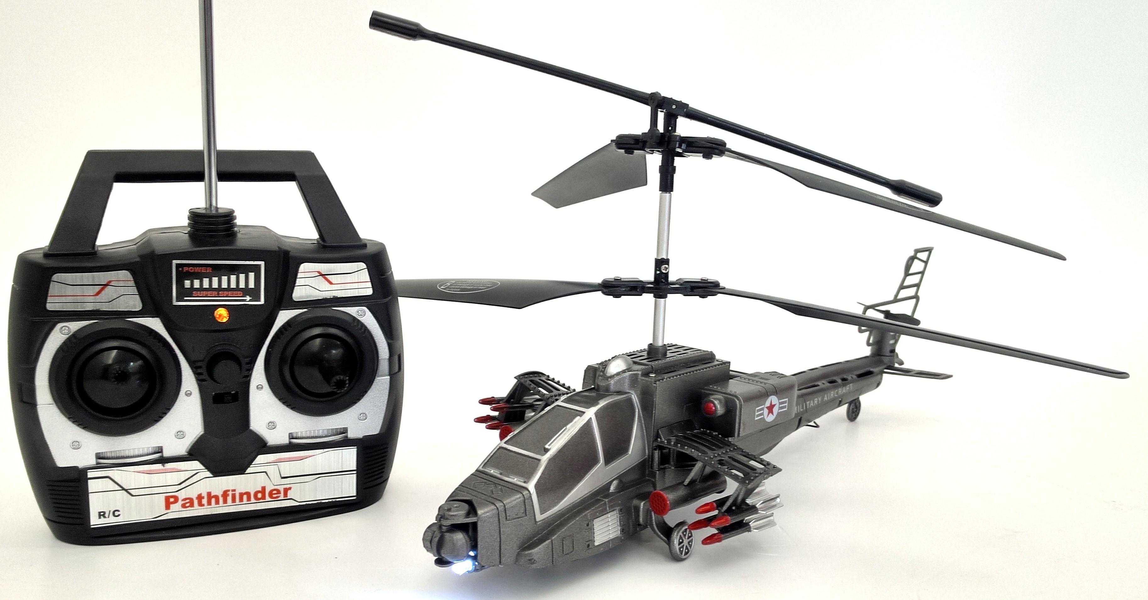 Balentes RC velký vojenský vrtulník na dálkové ovládání 39cm