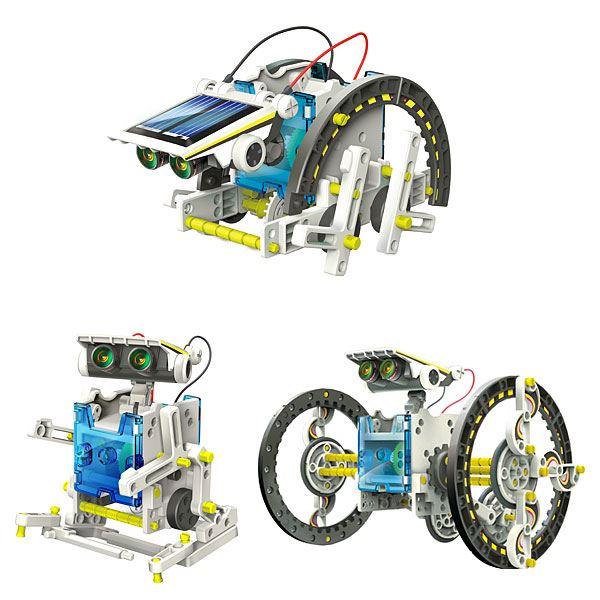 Balentes Solární stavebnice robot solarobot 14v1