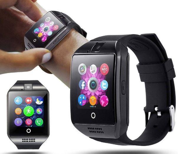 Balentes Chytré hodinky smarthwatch CZ - Černá