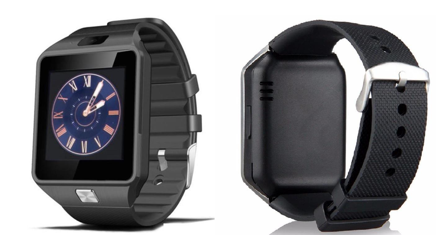 LURECOM Bluetooth, chytré hodinky CZ (smart watch) - Černá