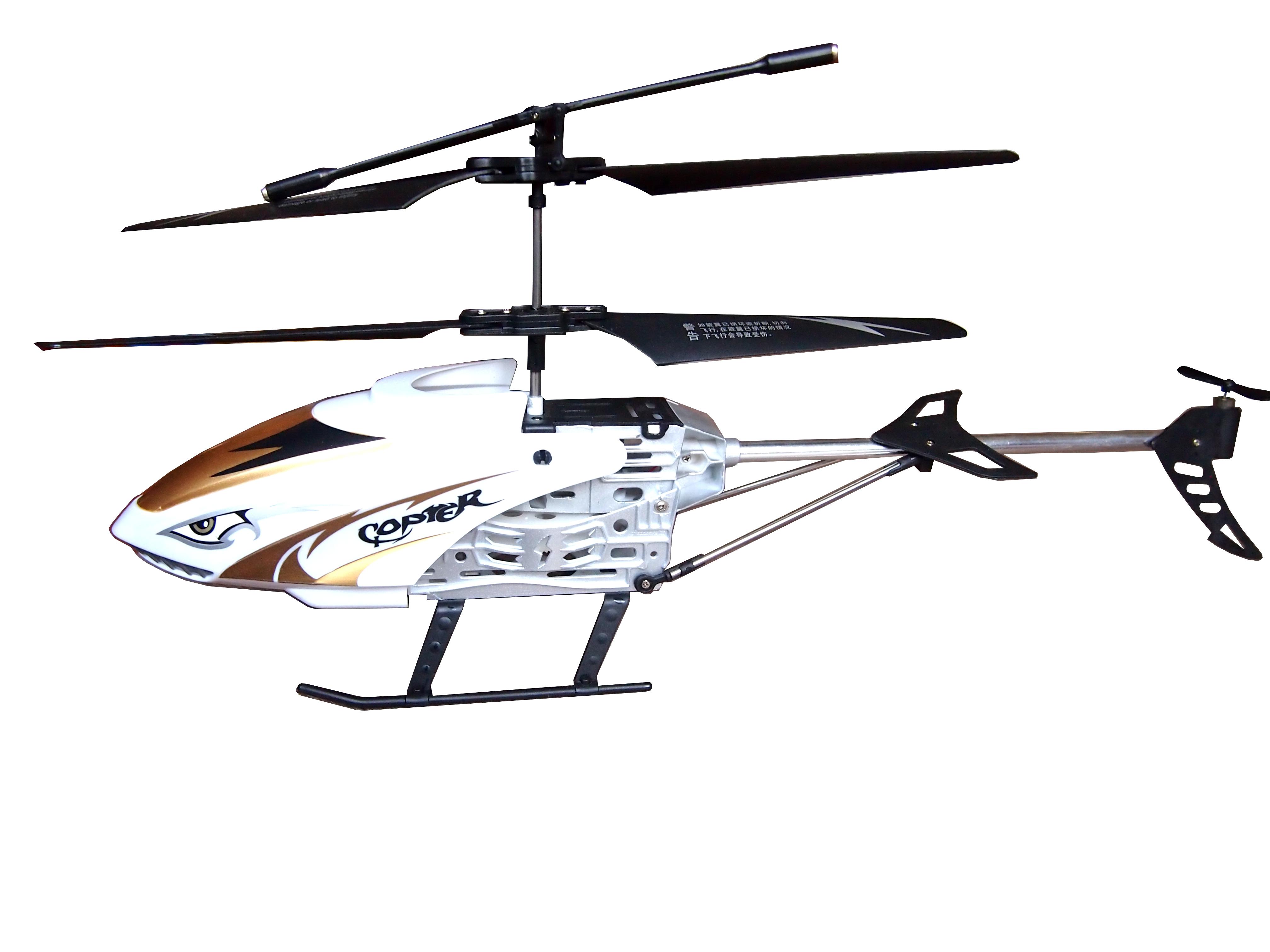 RC SHARK velký vrtulník na dálkové ovládání 330 mm