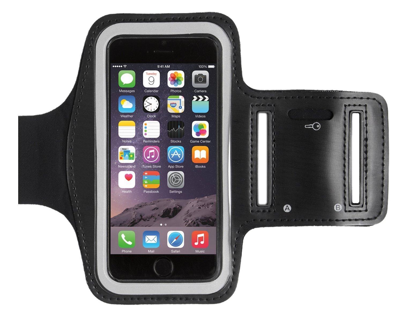 LURECOM Mobilní fitness pouzdro na ruku ČERNÁ