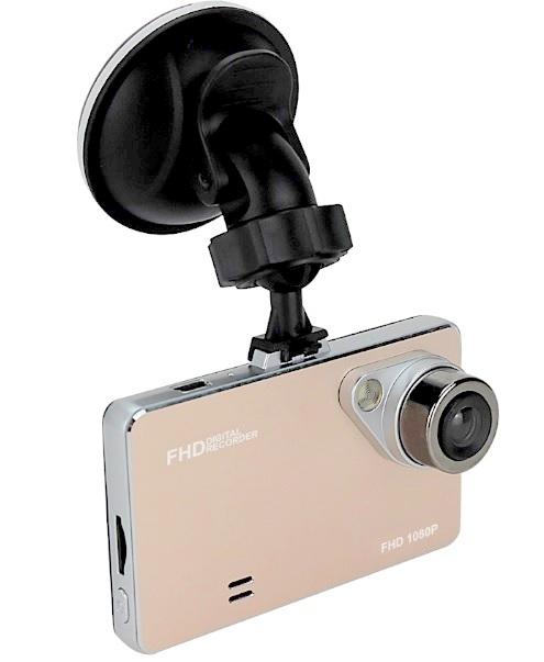 Lurecom Kamera do auta Full HD 1080P - zlatá