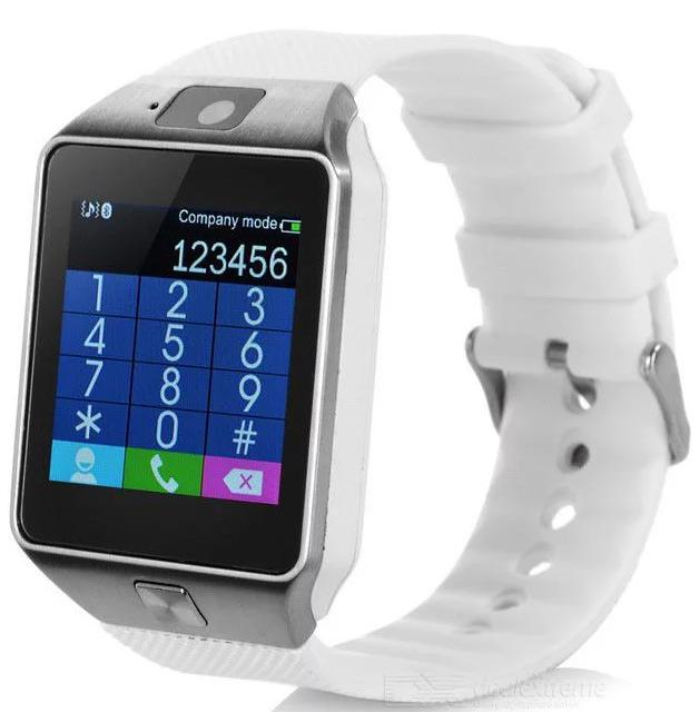 LURECOM Bluetooth, chytré hodinky CZ (smart watch) - Bílá