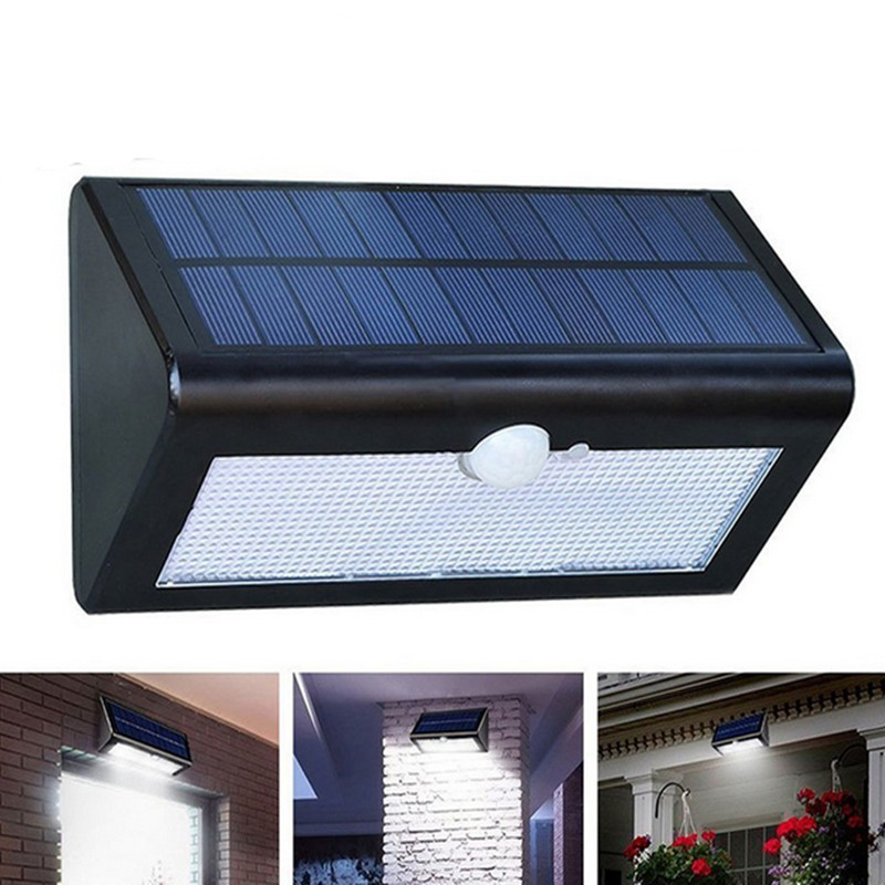 Lurecom Venkovní solární svítidlo 38 LED