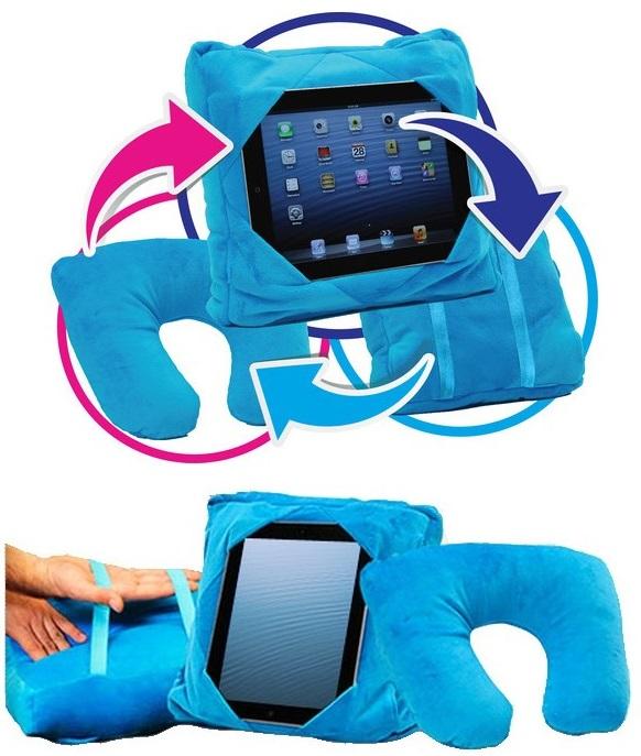 Balentes Multifunkční cestovní polštářek na tablet 3v1
