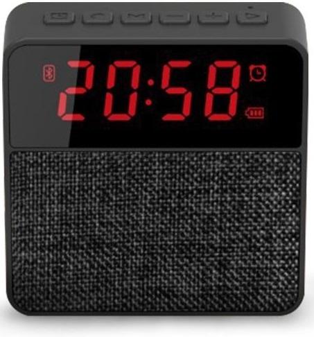 Lurecom Bluetooth reproduktor s hodinami, budíkem a rádiem