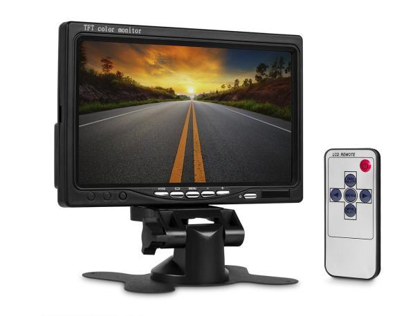 """Lurecom LCD obrazovka 7"""" TFT do auta - 17,8cm"""