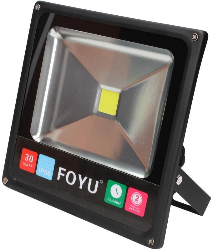 Lurecom LED reflektor 30W plochý - Pro vnitřní i venkovní použití