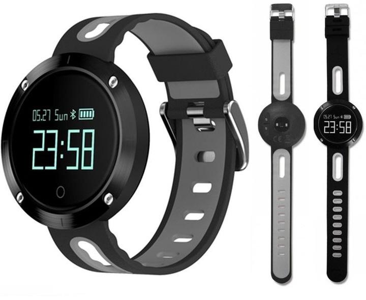 """Billow Sportovní, chytré, inteligentní, bluetooth hodinky XS30 0,95"""" - Černá"""