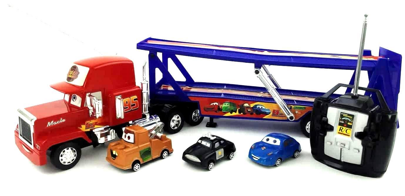 Lurecom Kamion Mack s přáteli z filmu Cars na dálkové ovládání