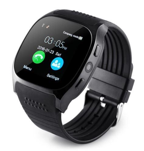 Lurecom Chytré hodinky smartwatch T8 - Černá