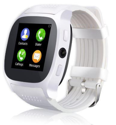 Lurecom Chytré hodinky smartwatch T8 - Bílá