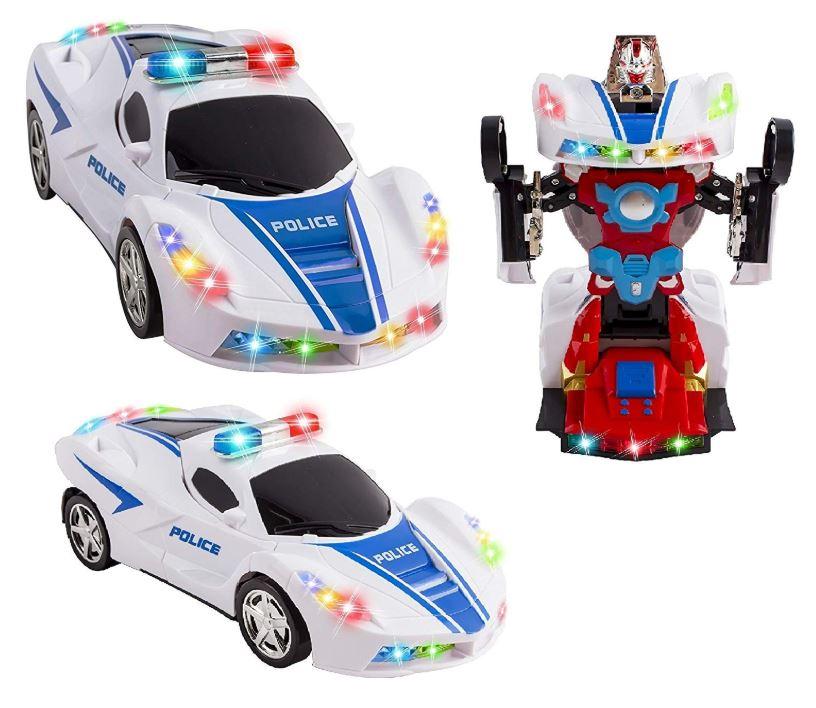 Bls Policejní autorobot tranform robot 2v1