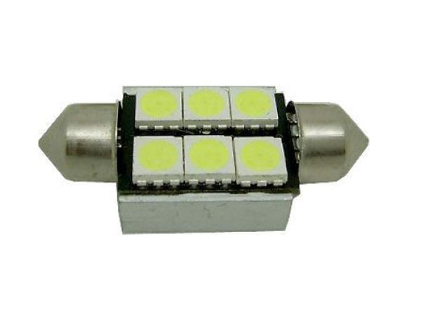Lurecom automobilová LED žárovka SUFIT 12V, bílá LED K588 SUFIT-CANBUS