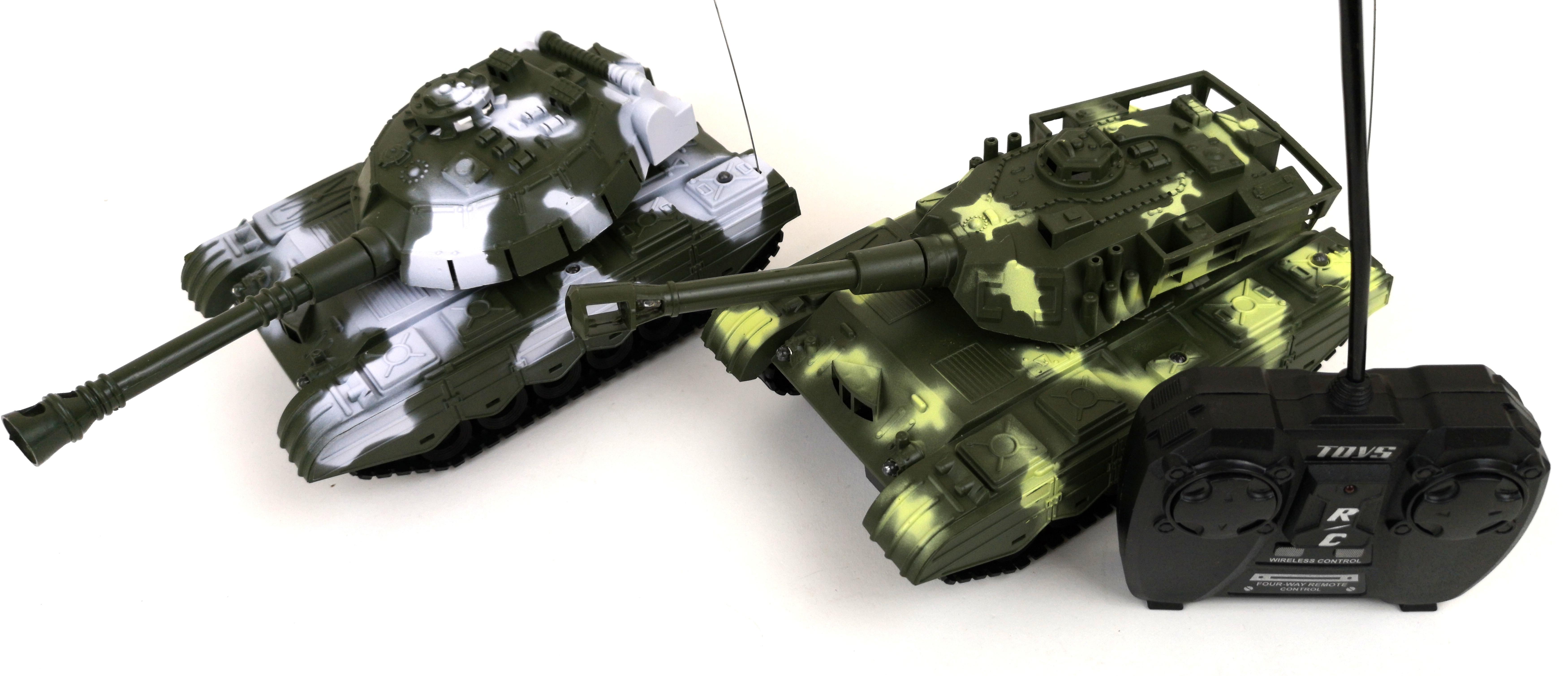 Lure RC Tank na dálkové ovládání 2 barvy