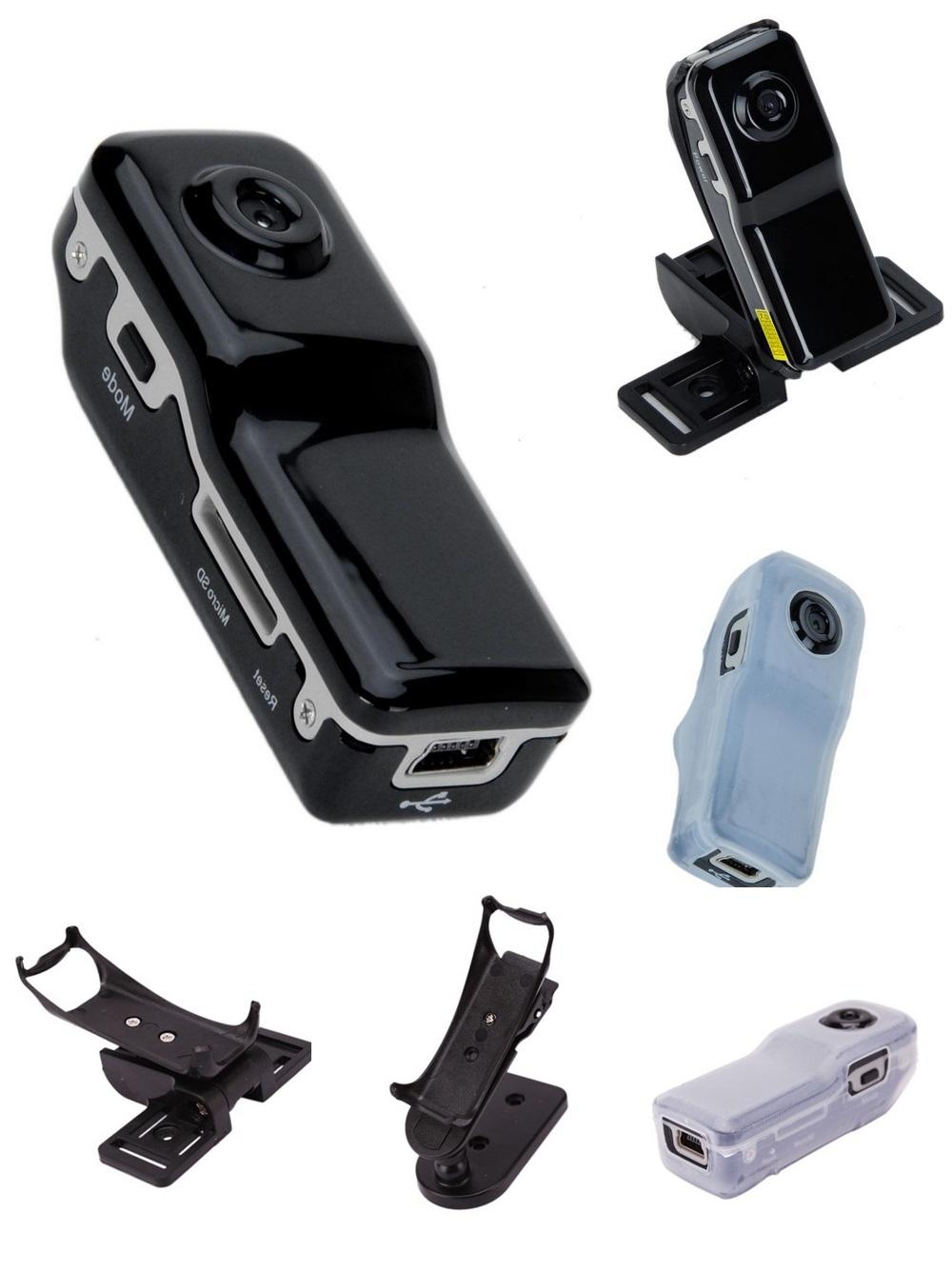 LURECOM Nejmenší špionážní Mini DV kamera s detekcí zvuku MINI-8G