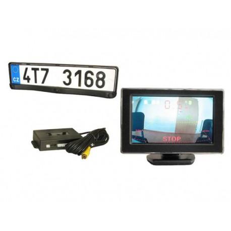 LURECOM Couvací kamera v rámečku značky, LCD monitor 4,3