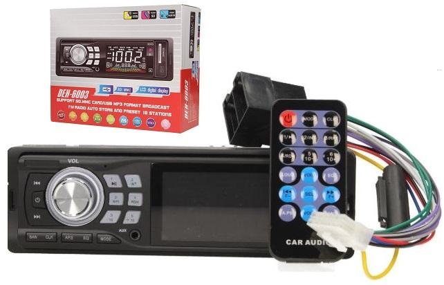 Autorádio Deh s MP3 přehrávačem, bluetooth a ovladačem, USB