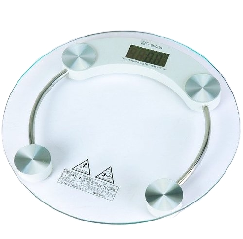 LURECOM Osobní, skleněná, digitální váha do 180 kg