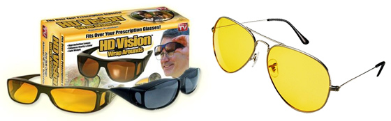 Vyberte si brýle pro řidiče dle svého vkusu