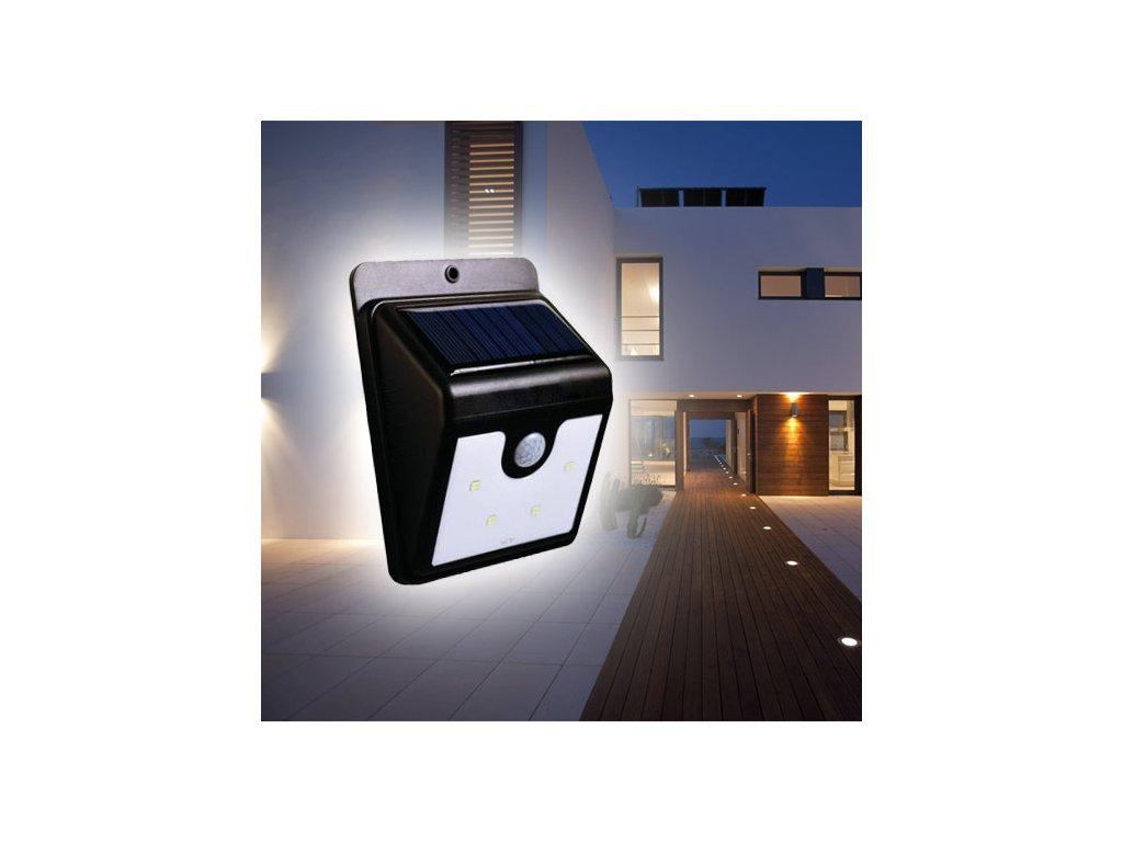 Solární světlo se senzorem pohybu - osvětlení pro váš domov