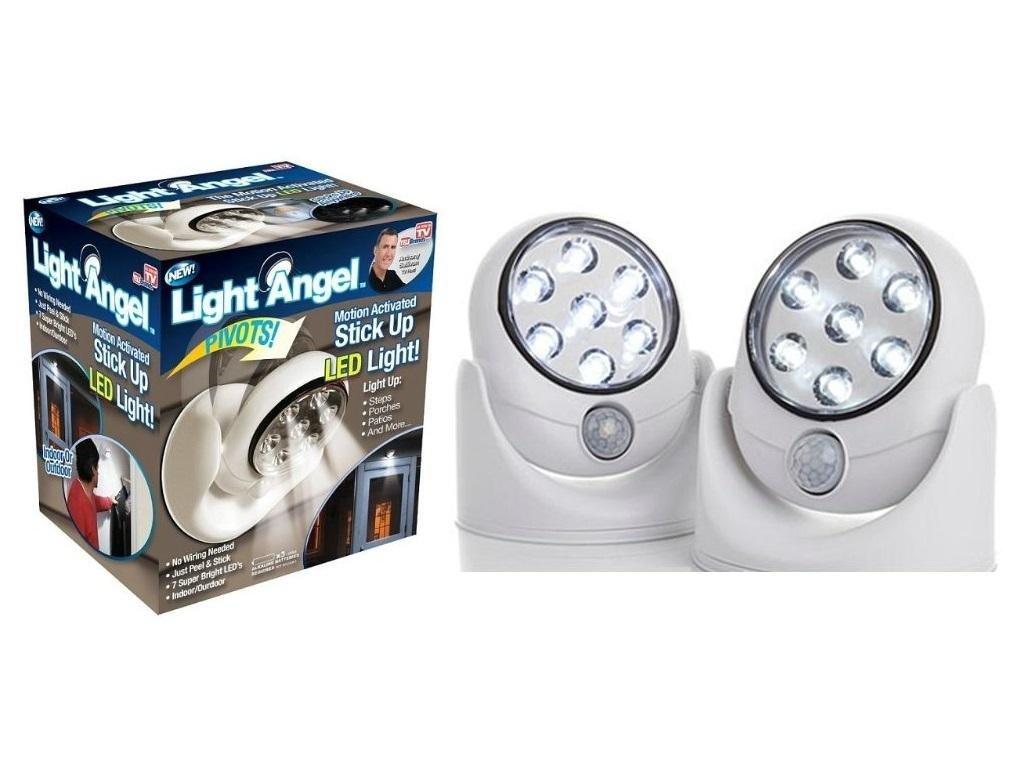 Light Angel - bezdrátové venkovní světlo s čidlem