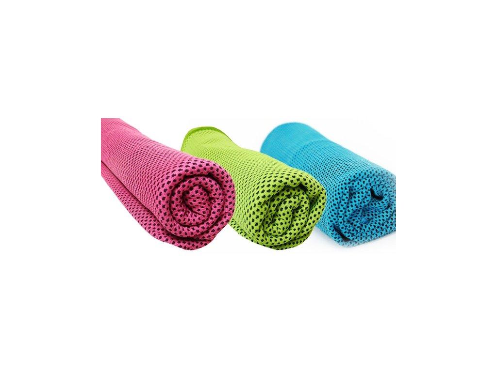 Chladící ručník - SET 3 ks (Doprava zdarma)
