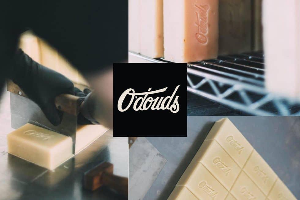 O'Douds artisan mýdla. Výroba krok za krokem.