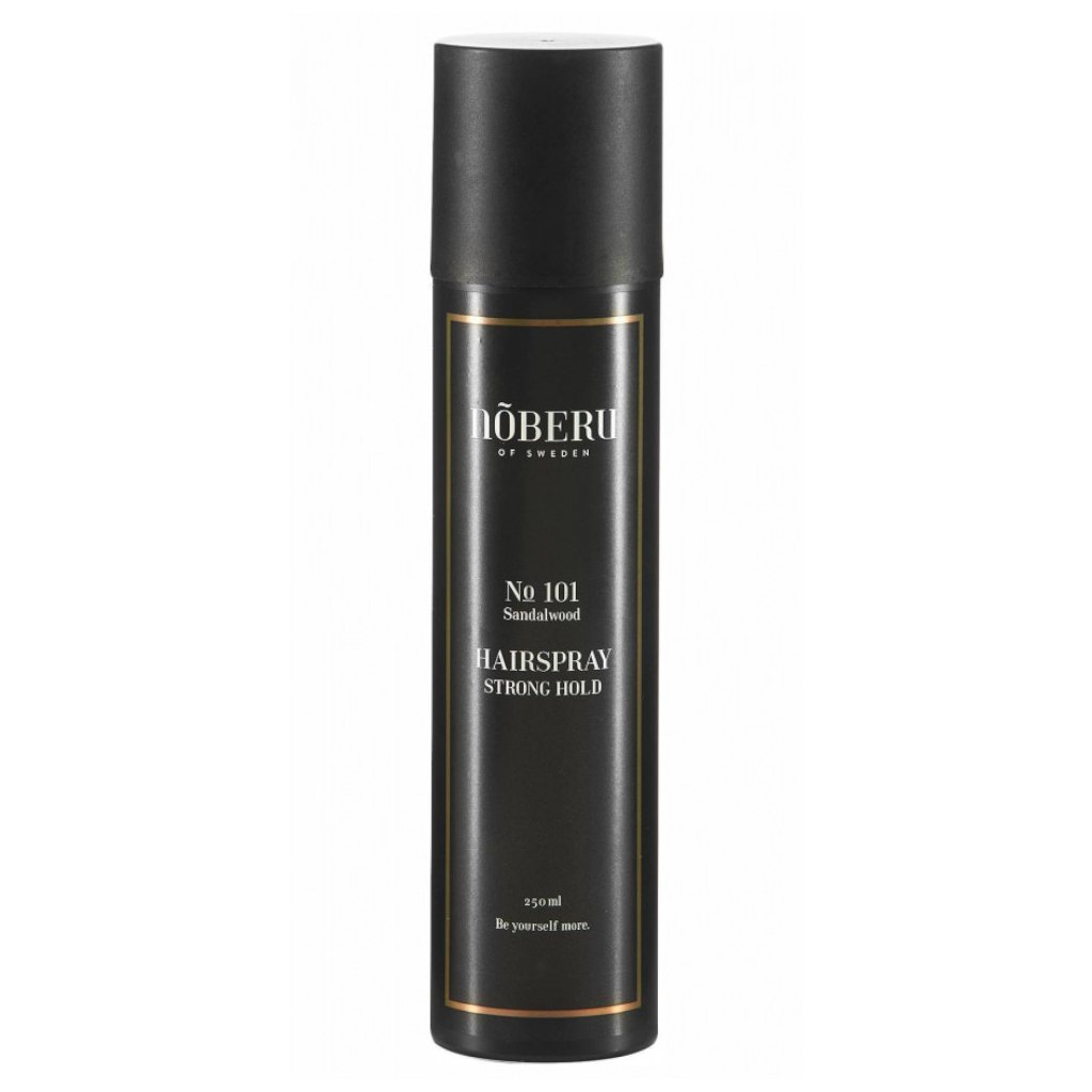 noberu strong hold sandalwood hairspray slickstyle
