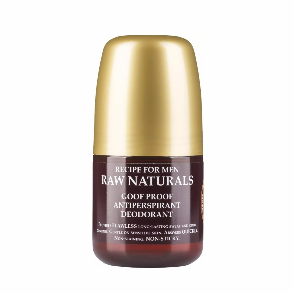 recipe for men raw naturals deodorant