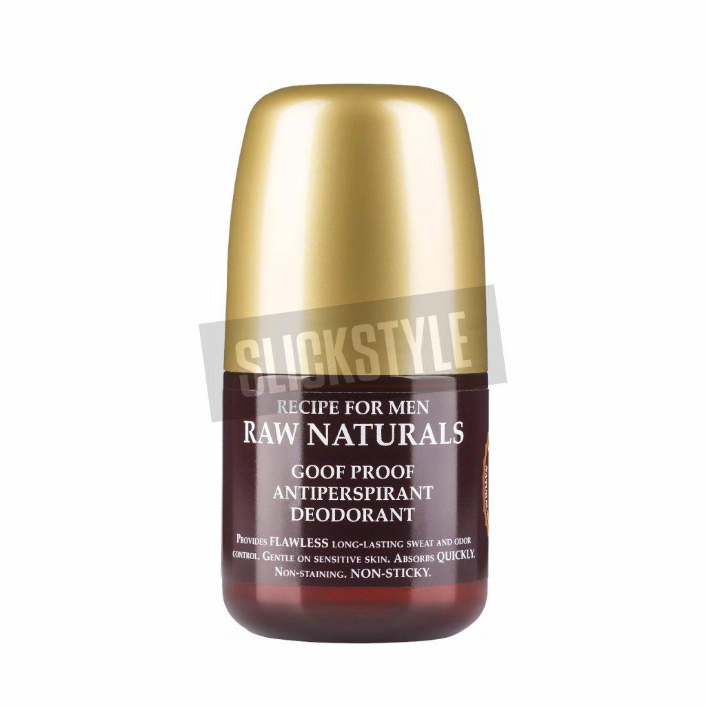 recipe for men raw naturals deodorant