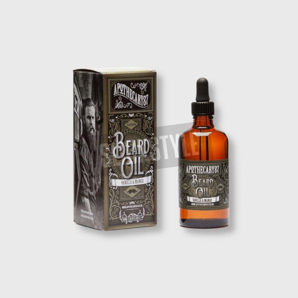 apothecary87 vanilla mango beard oil