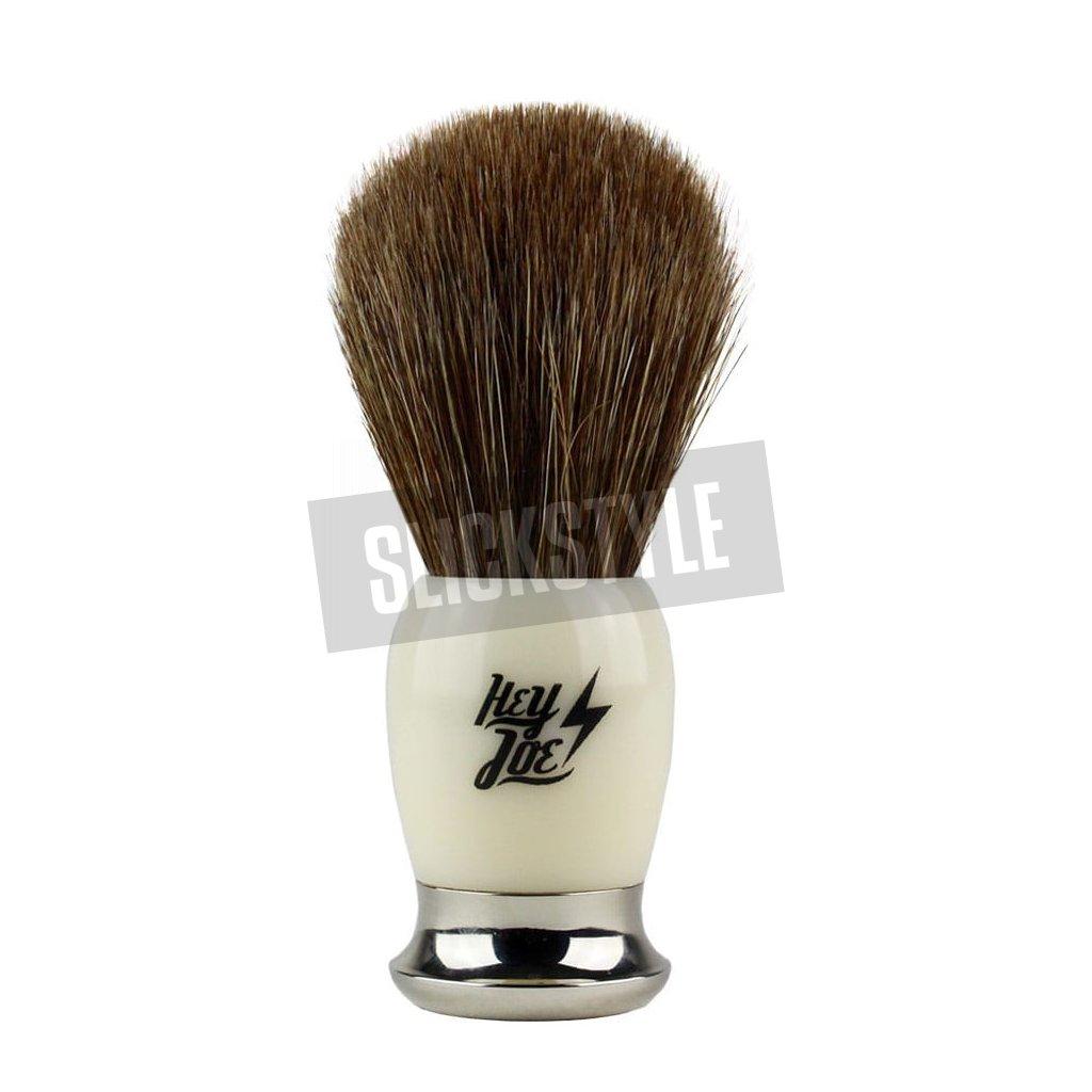 hey joe premium shaving brush horse stetka na holeni slickstyle cz