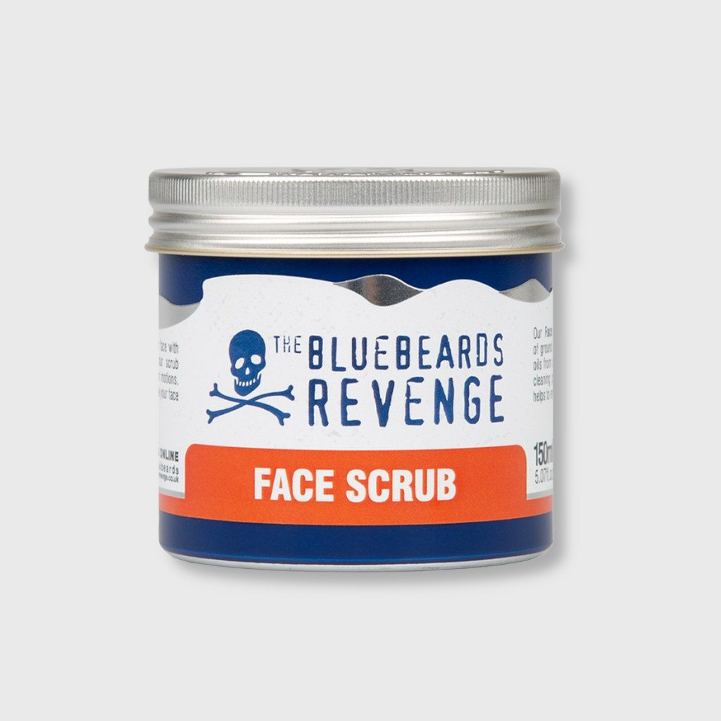 bluebeards revenge face scrub slickstyle