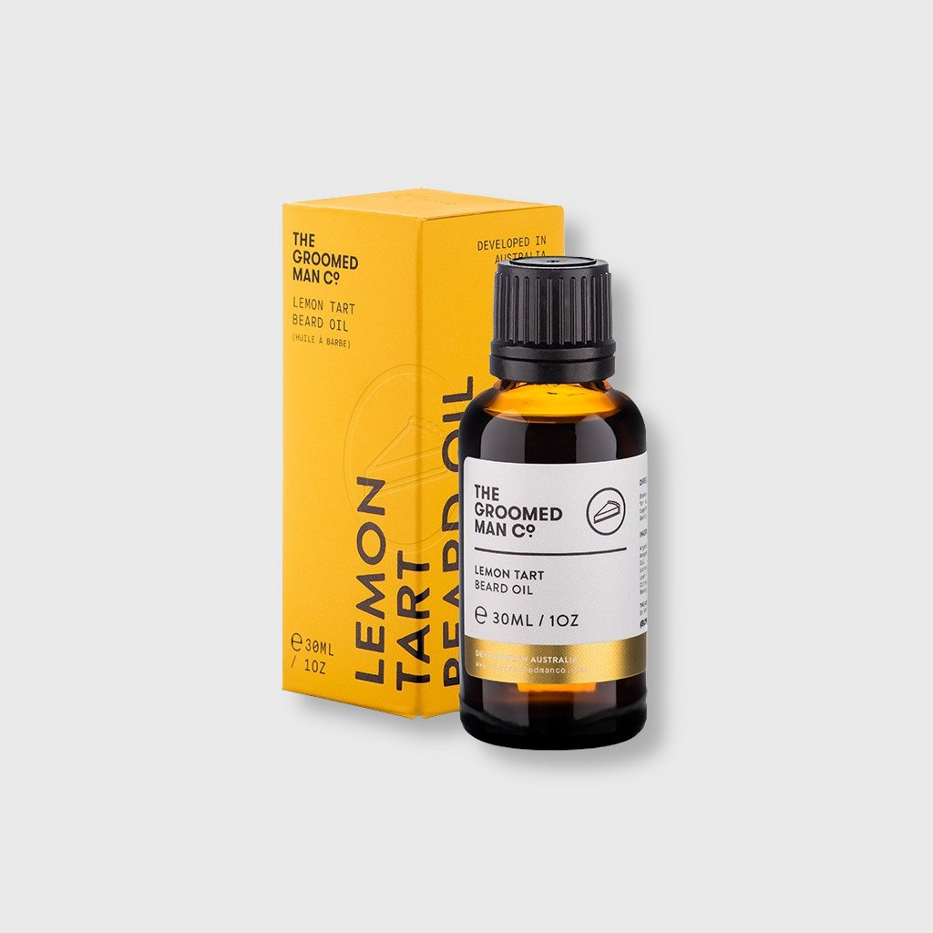 tgm lemon tart beard oil