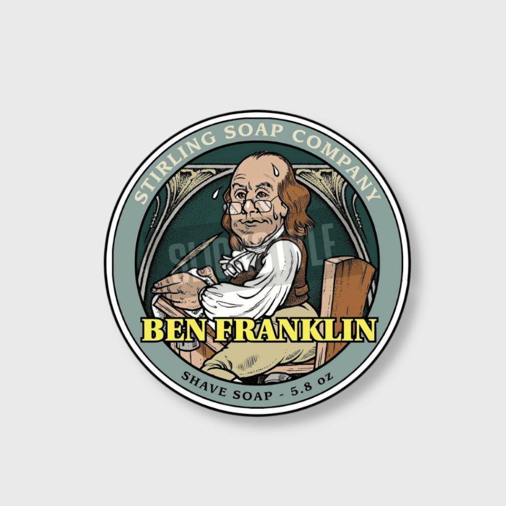 stirling soap company ben franklin mydlo na holeni 2