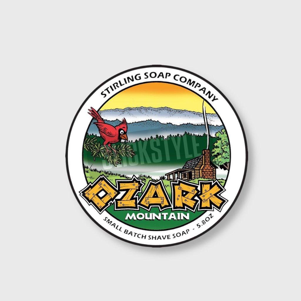 stirling soap company ozark mountain mydlo na holeni
