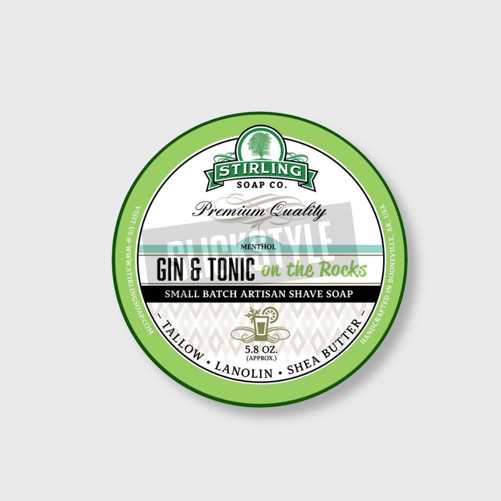 stirling soap company gin tonic soap