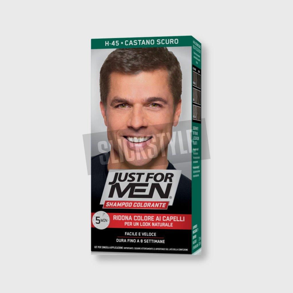 just for men color shampoo dark brown