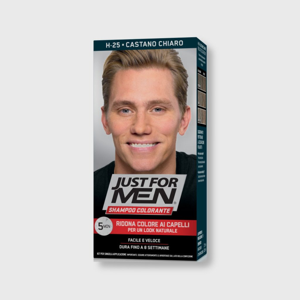 just for men color shampoo light brown