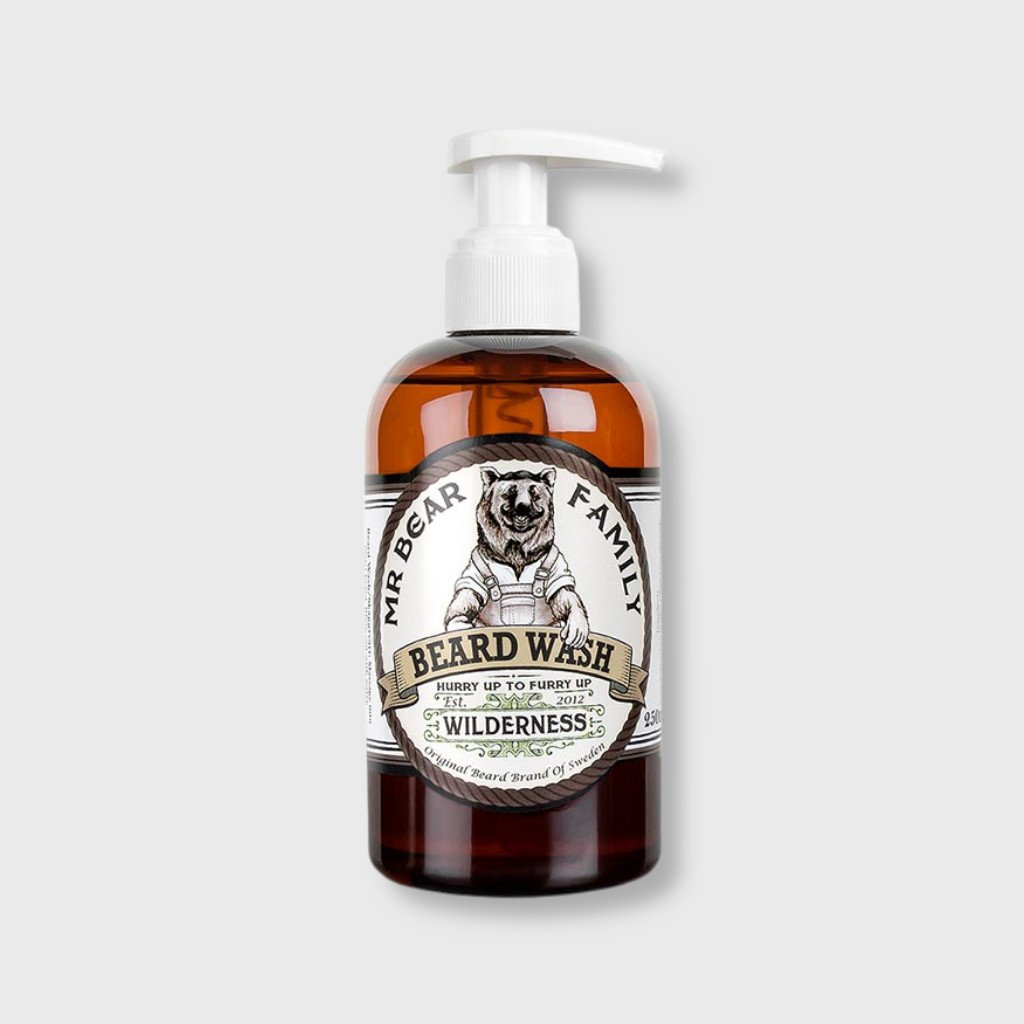 mbf wilderness beard wash
